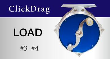 ClickDrag クリックドラグ リール LOAD ロード