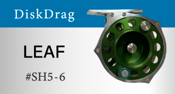 DiskDrag ディスクドラグ リール LEAF リーフ